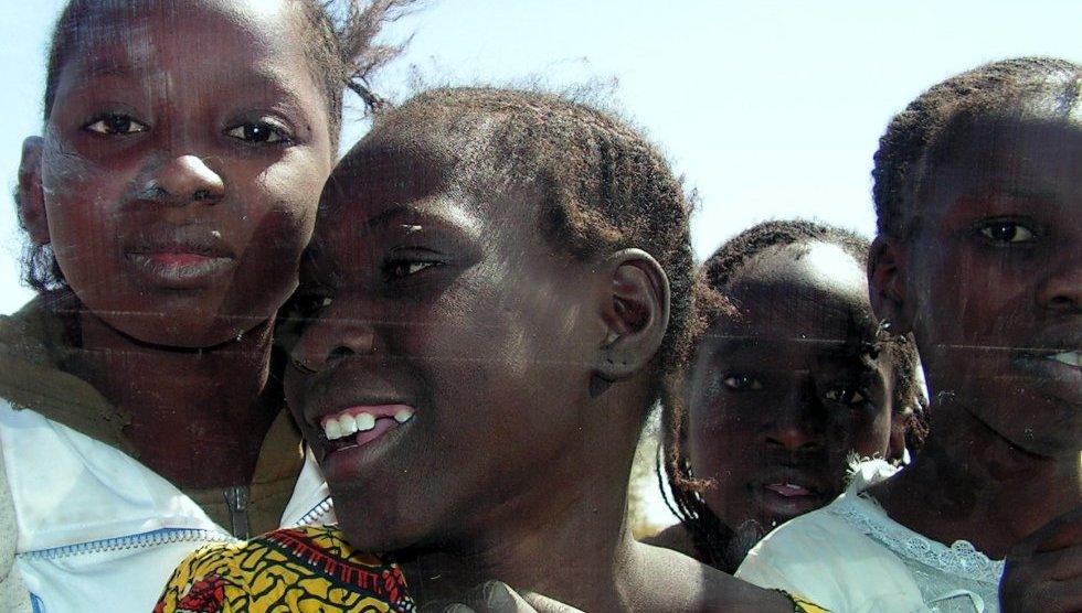 tárgyaló lány öröm bamako